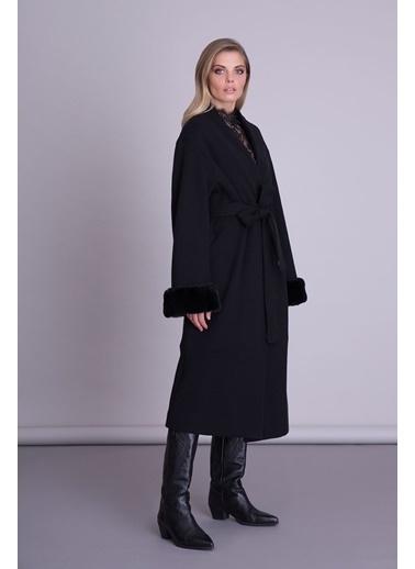 GIZIA Palto Siyah